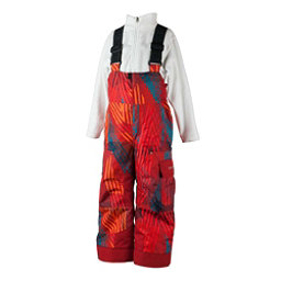 Obermeyer Volt Novelty Toddler Boys Ski Pants, Thunder Red, 256