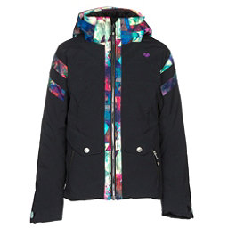 Obermeyer Dyna Girls Ski Jacket, Black, 256
