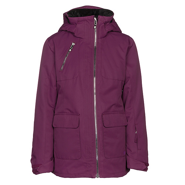Obermeyer June Girls Ski Jacket, Metal Magenta, 600