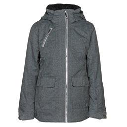 Obermeyer June Girls Ski Jacket, Light Heather Grey, 256