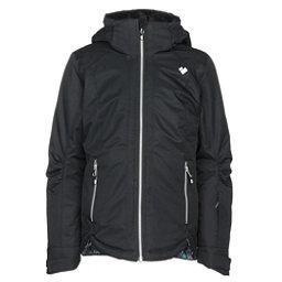 Obermeyer Kenzie Girls Ski Jacket, Black, 256