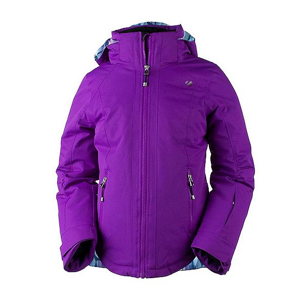 Obermeyer Kenzie Girls Ski Jacket, Violet Vibe, 600