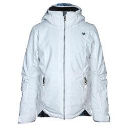 Obermeyer Kenzie Girls Ski Jacket, White, 256
