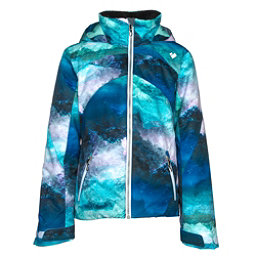 Obermeyer Tabor Print Girls Ski Jacket, Elevation Print, 256