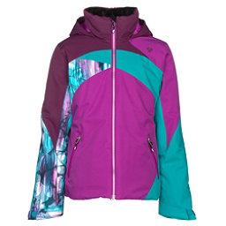Obermeyer Tabor Girls Ski Jacket, Violet Vibe, 256