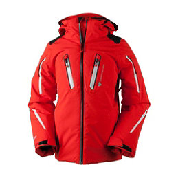 Obermeyer Mach 8 Boys Ski Jacket, Red, 256