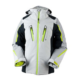Obermeyer Mach 8 Boys Ski Jacket, Fog, 256