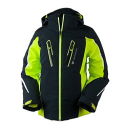 Obermeyer Mach 8 Boys Ski Jacket, Green Flash, 256