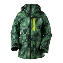 Obermeyer Axel Boys Ski Jacket, Smoke Screen Print, 256