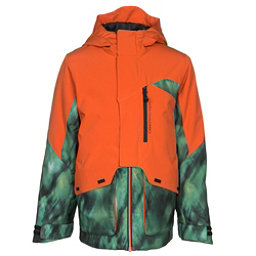 Obermeyer Gage Boys Ski Jacket, Red Rock, 256