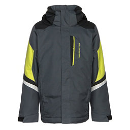 Obermeyer Fleet Boys Ski Jacket, Ebony, 256