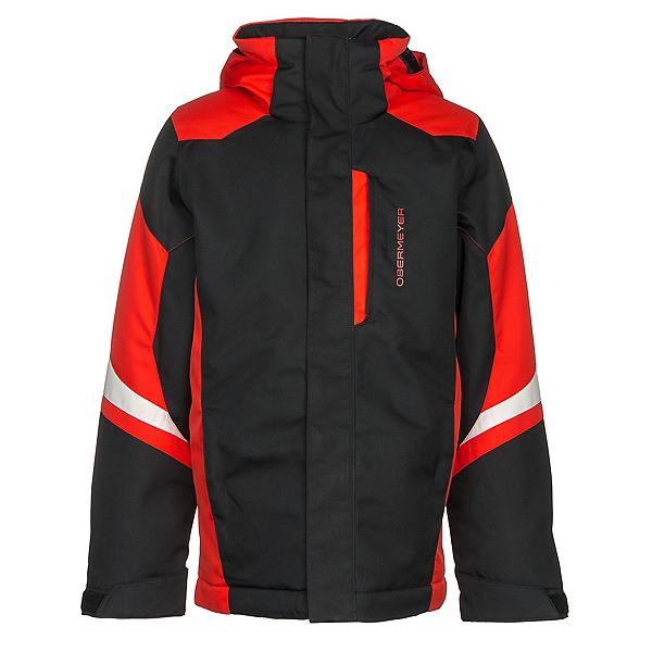 Obermeyer Fleet Boys Ski Jacket, Black, 600