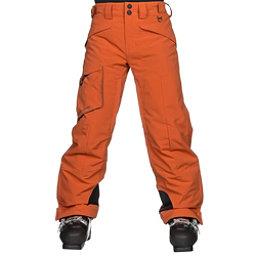 Obermeyer Porter Kids Ski Pants, Red Rock, 256