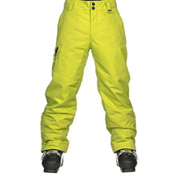 Obermeyer Brisk Teen Boys Ski Pants Kids Ski Pants, Green Flash, 256