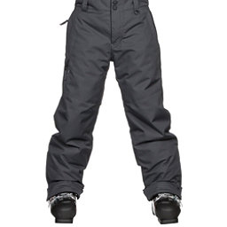 Obermeyer Brisk Teen Boys Ski Pants Kids Ski Pants, Ebony, 256