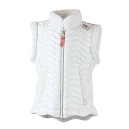 Obermeyer Snuggle-Up Toddler Girls Vest, White, 256