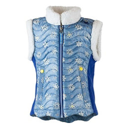 Obermeyer Snuggle-Up Toddler Girls Vest, Blue Frost Crystals, 256