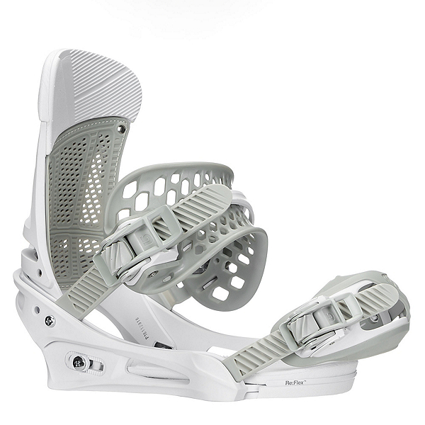 Burton Malavita Snowboard Bindings 2018, White Rabbit, 600