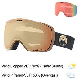 Giro Contact Goggles 2018, Protect Our Winters-Vivid Copp + Bonus Lens, 256