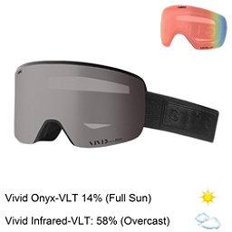Giro Axis Goggles 2018, Black Bar-Vivid Onyx + Bonus Lens, 256