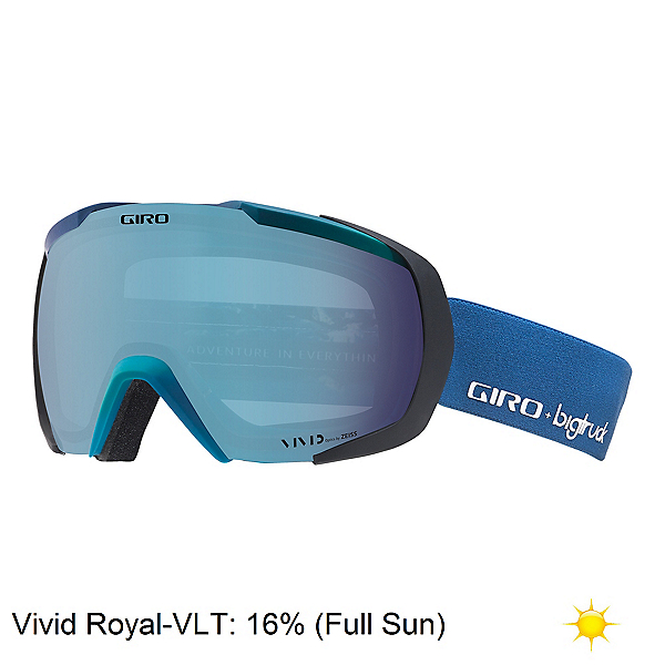 Giro Onset Goggles 2018, Big Truck-Vivid Royal, 600