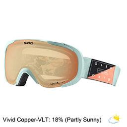Giro Field Womens Goggles 2018, Mist Piste Out-Vivid Copper, 256