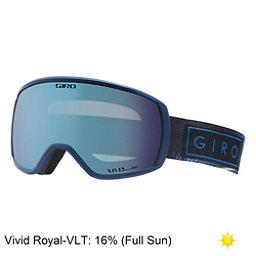 Giro Facet Womens Goggles 2018, Blue Jay-Vivid Royal, 256