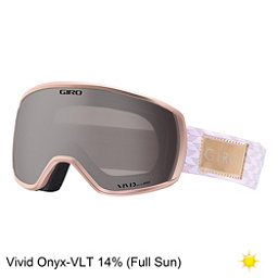 Giro Facet Womens Goggles 2018, Rose Gold Shimmer-Vivid Onyx, 256