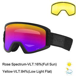 Giro Dylan Womens Goggles 2018, Black Quilted-Rose Spectrum + Bonus Lens, 256