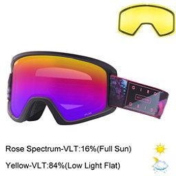 Giro Dylan Womens Goggles 2018, Tidepool-Rose Spectrum + Bonus Lens, 256