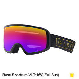 Giro Gaze Womens Goggles 2018, Black Gold Bar-Rose Spectrum, 256