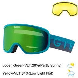 Giro Moxie Womens Goggles 2018, Marine Horizon-Loden Green + Bonus Lens, 256