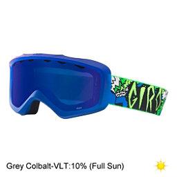 Giro Grade Youth Goggles 2018, Blue Green Roar-Grey Cobalt, 256