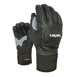 Level Race Ski Racing Gloves, Black, 256
