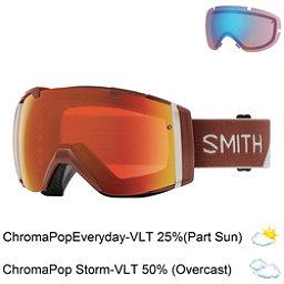Smith I/O Goggles 2018, Adobe Split-Chromapop Everyday + Bonus Lens, 256