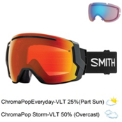 Smith I/O 7 Goggles 2018, Black-Chromapop Everyday Red M + Bonus Lens, medium