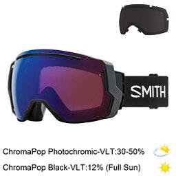 Smith I/O 7 Goggles 2018, Black-Chromapop Storm Rose Fla + Bonus Lens, 256
