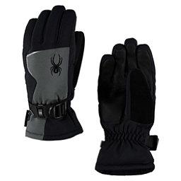 Spyder Traverse GORE-TEX Kids Gloves, Polar-Black, 256