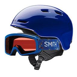 Smith Zoom and Rascal Combo Kids Helmet 2018, Cobalt, 256