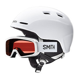 Smith Zoom and Rascal Combo Kids Helmet 2018, White, 256