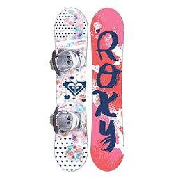 Roxy Poppy Girls Snowboard Package 2018, , 256