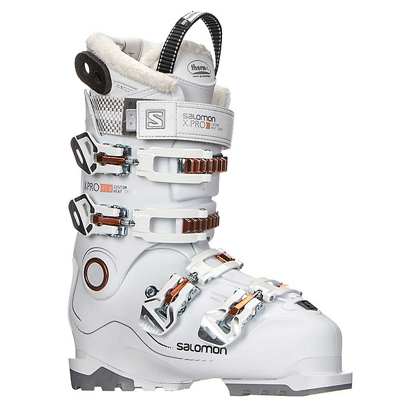 Salomon X-Pro Custom Heat W Womens Ski Boots 2018, White-Corail, 600