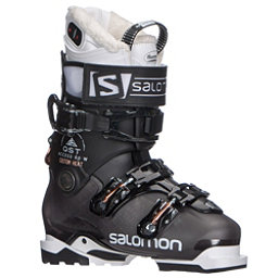 Salomon QST Access Custom Heat W Womens Ski Boots 2018, Anthracite Translucent-Black-C, 256