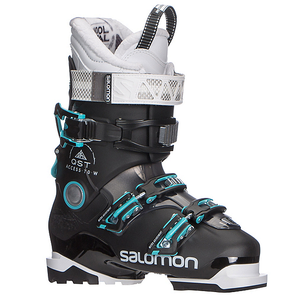 Salomon QST Access 70 W Womens Ski Boots 2018, Black-Anthracite Translucent-A, 600