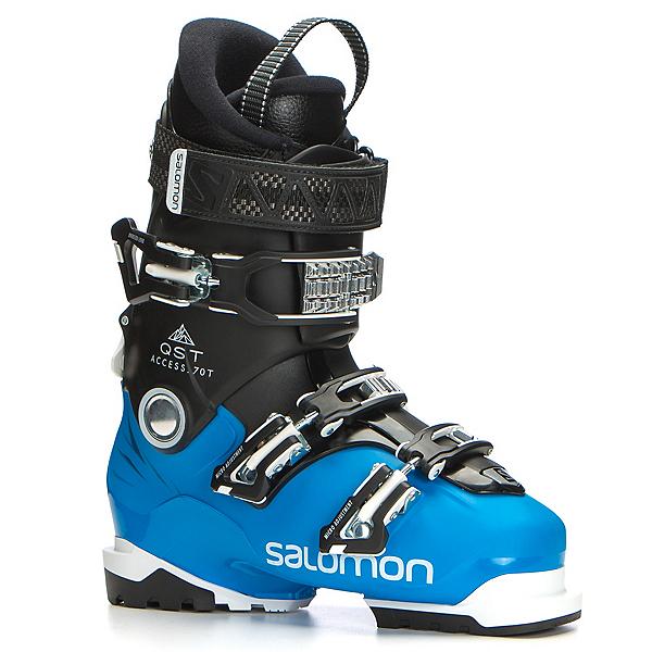 Salomon QST Access 70 T Kids Ski Boots 2018, Indigo Blue-Black, 600
