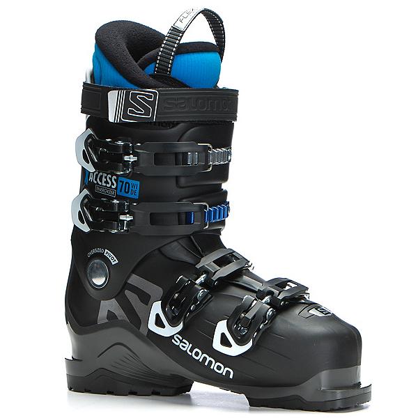Salomon X-Access 70 Wide Ski Boots 2018, Black-Indigo Blue, 600