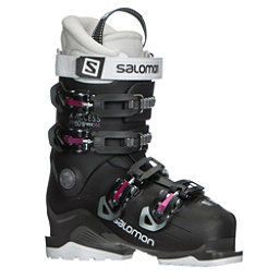 Salomon X-Access 60 W Wide Womens Ski Boots 2018, Black-Anthracite-Pinks07, 256