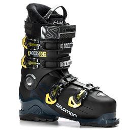 Salomon X-Access 80 Wide Ski Boots 2018, Black-Petrol Blue-Acid Green, 256