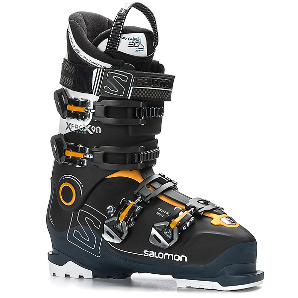 Salomon X-Pro X90 CS Ski Boots 2018, Black-Petrol Blue-White, 600