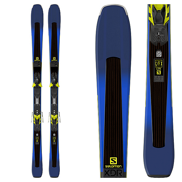 Salomon XDR 80 Ti Skis with XT 12 Bindings 2018, , 600